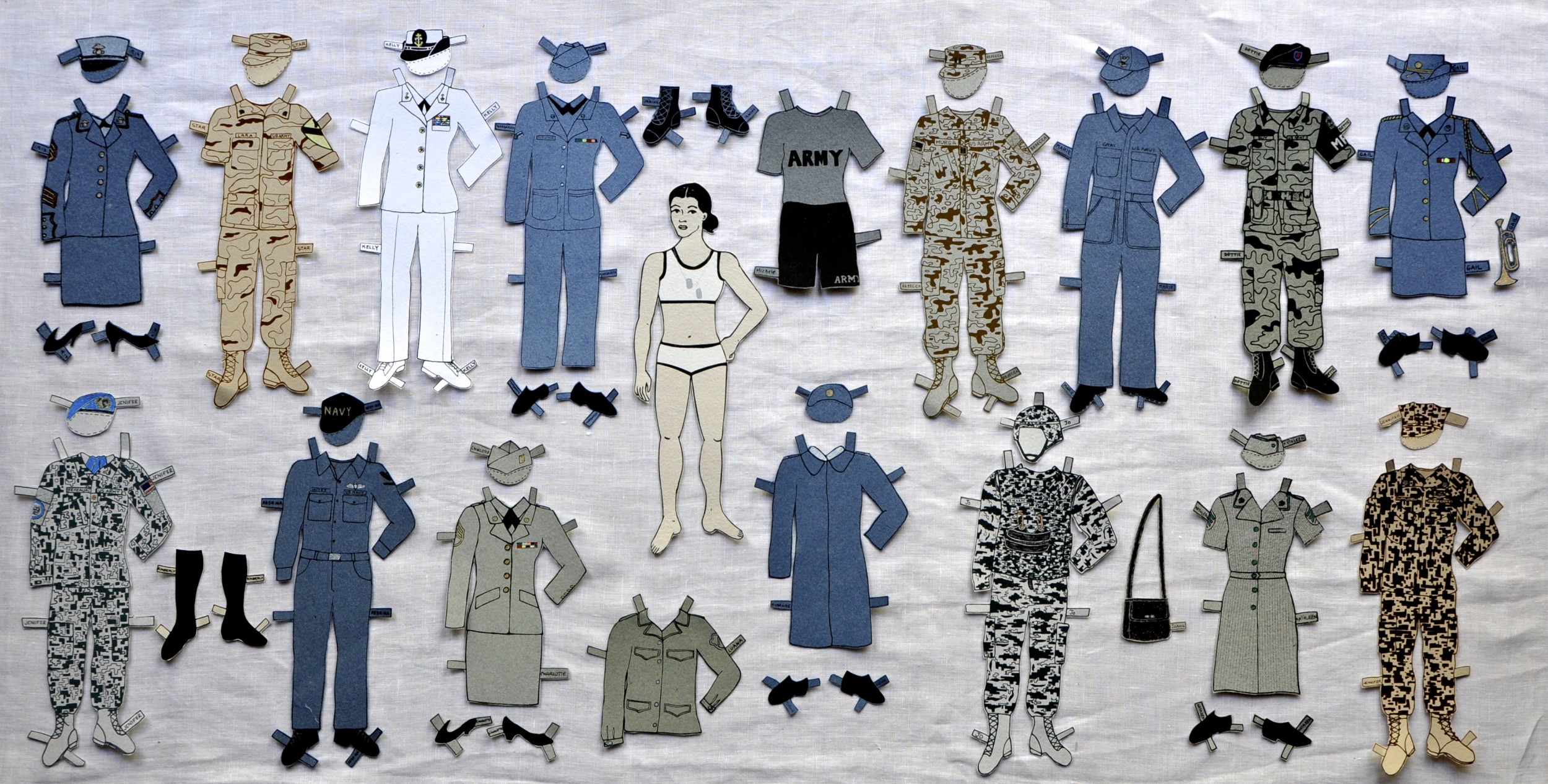 Paper Dolls: stories from women who served