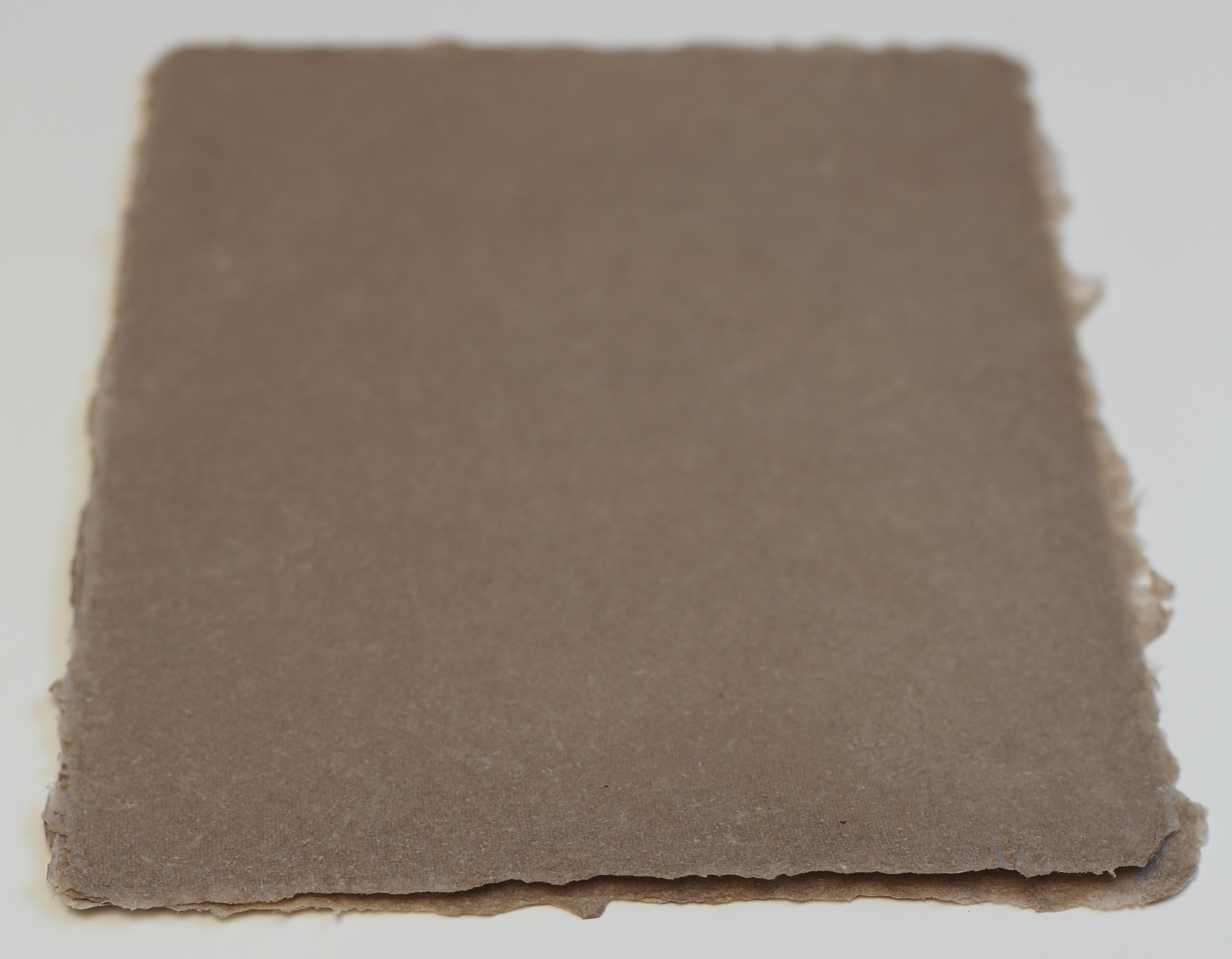 Raw hemp shotwell paper mill for 11x14 paper size